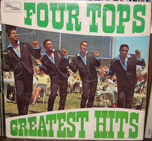 Albumcover The Four Tops - Greatest Hits (UK)