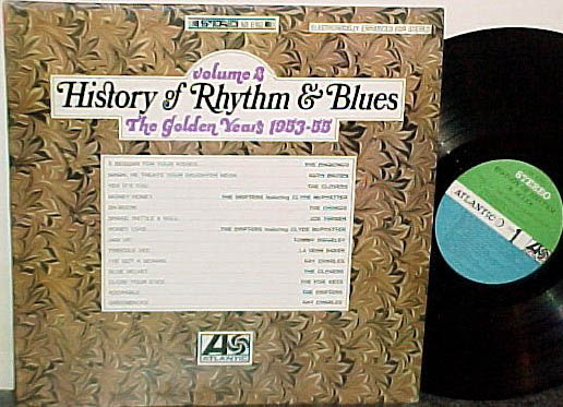 Albumcover History of Rhythm & Blues - History of Rhythm & Blues, Vol. 2: The Golden Years 1953-55