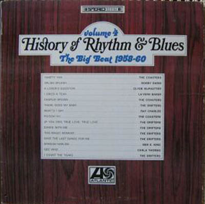 Albumcover History of Rhythm & Blues - History of Rhythm & Blues, Vol. 4  - The Big Beat 1958-60