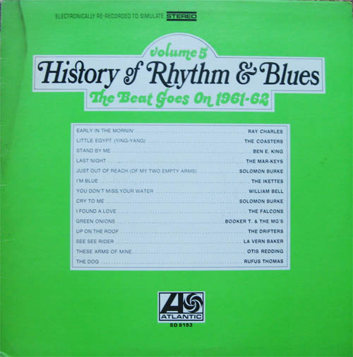 Albumcover History of Rhythm & Blues - History of Rhythm & Blues, Vol. 5: The Beat Goes On 1961-62