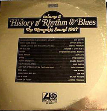 Albumcover History of Rhythm & Blues - History of Rhythm & Blues, Vol. 8: The Memphis Sound 1967