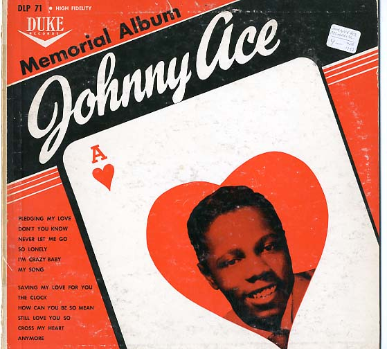 Albumcover Johnny Ace - Memorial Album
