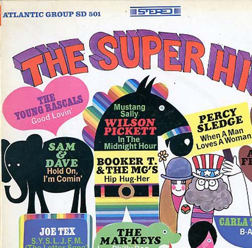 Albumcover Atlantic  Super Hits Sampler - The Super Hits