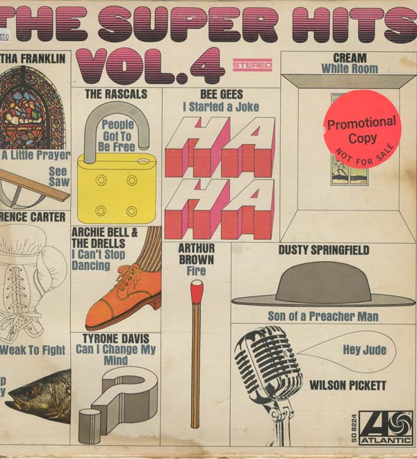 Albumcover Atlantic  Super Hits Sampler - The Super Hits Vol. 4