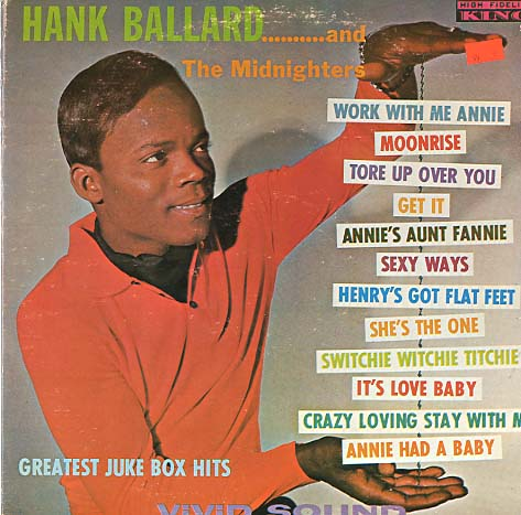Albumcover Hank Ballard and the Midnighters - Great Juke Box Hits