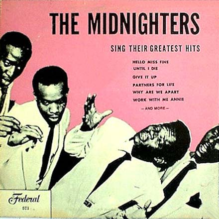 Albumcover Hank Ballard and the Midnighters - The Midnighters Sing Their Greatest Hits
