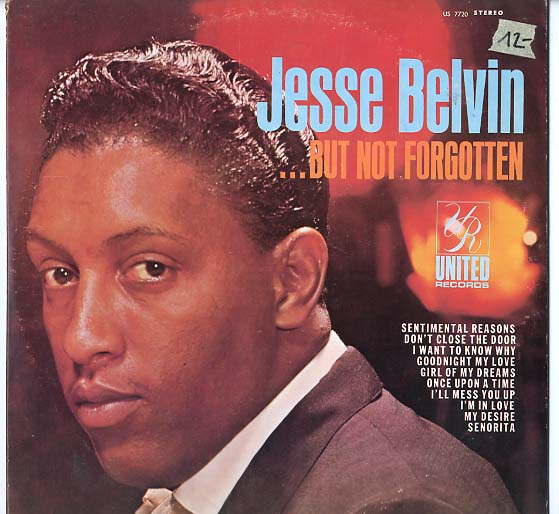 Albumcover Jesse Belvin - But Not Forgotten