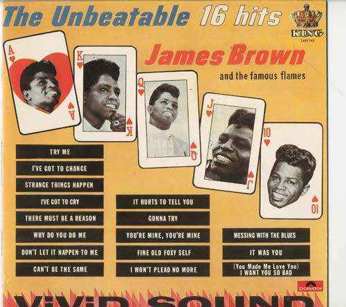 Albumcover James Brown - The Unbeatable James Brown - 16 Hits