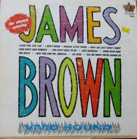Albumcover James Brown - The Always Amazing James Brwon