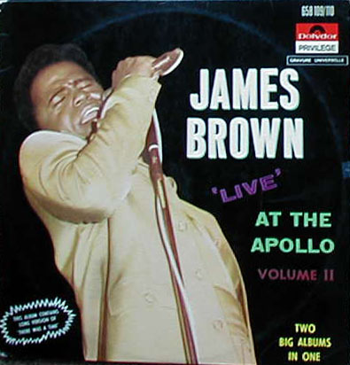 Albumcover James Brown - Live At the Apollo   (DLP)