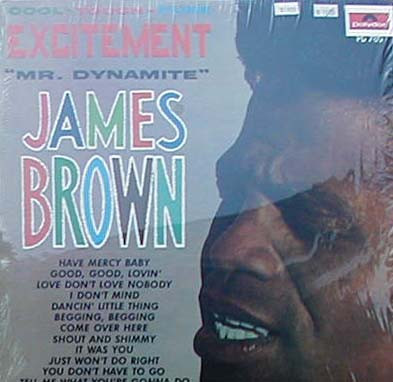 Albumcover James Brown - Excitement