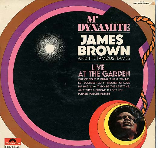 Albumcover James Brown - Live At The Garden