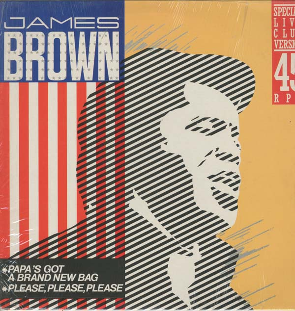 "Albumcover James Brown - Papas Got A Brand New Bag (12"" 45 RPM Maxi)"