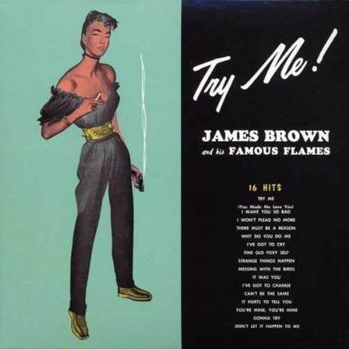 Albumcover James Brown - Try Me