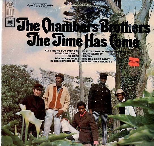 Albumcover The Chambers Brothers - The Time Has Come