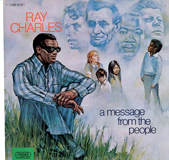 Albumcover Ray Charles - A Message From The People