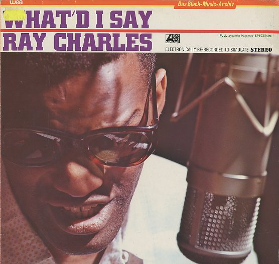 Albumcover Ray Charles - What´d I Say