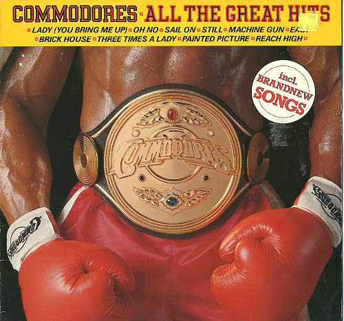Albumcover Commodores - All TRhe Great Hits (Diff. Titles)
