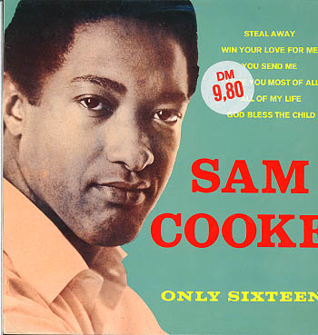 Albumcover Sam Cooke - Only Sixteen