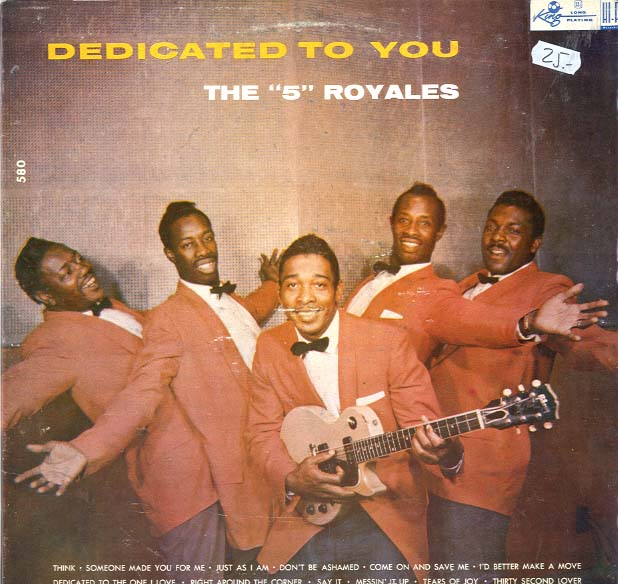 Albumcover The Five Royals - Dedicated To You