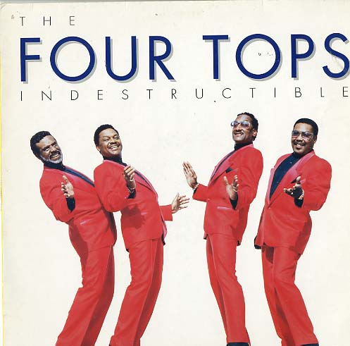 Albumcover The Four Tops - Indestructible