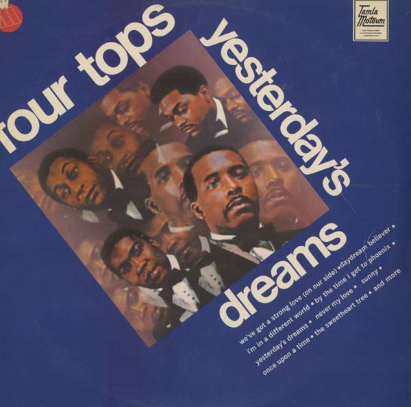 Albumcover The Four Tops - Yesterday´s Dreams
