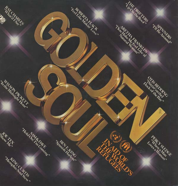 Albumcover Atlantic Sampler - Golden Soul - In Aid of The Worlds Refugees