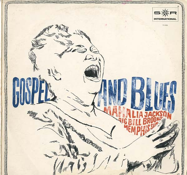 Albumcover Various Blues-Artists - Gospel and Blues (S*R Sampler)