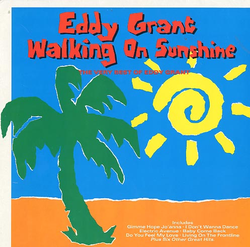 Albumcover Eddy Grant - Walking On Sunshine - The Very Best Of Eddy Grant