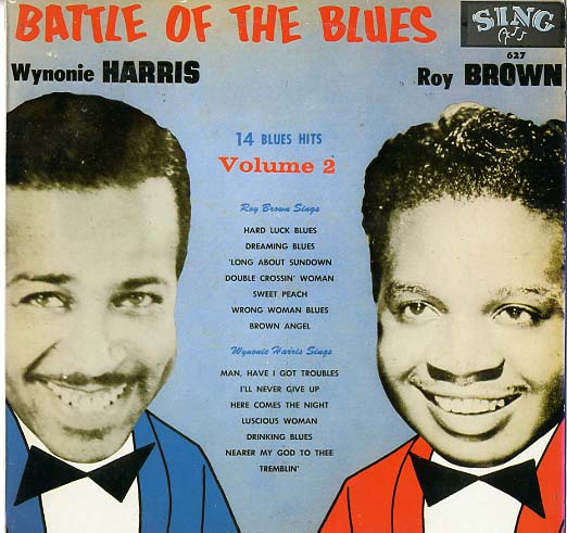Albumcover Roy Brown - Battle of The Blues - Wynonie Harris / Roy Brown - 14 Blues Hits Vol. 2