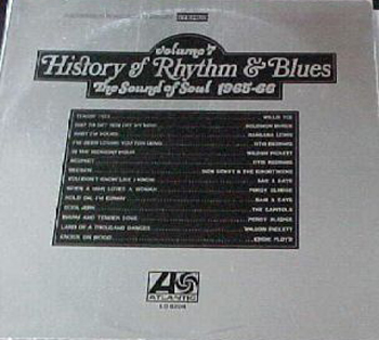 Albumcover History of Rhythm & Blues - History of Rhythm & Blues, Vol. 7: The Sound of Soul 1965-66