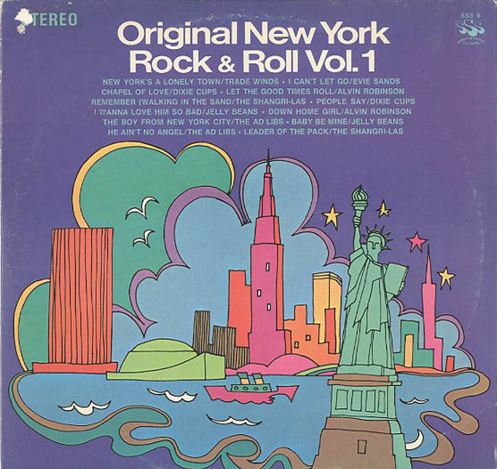 Albumcover Various Artists of the 60s - Original New York Rock & Roll Vol. 1