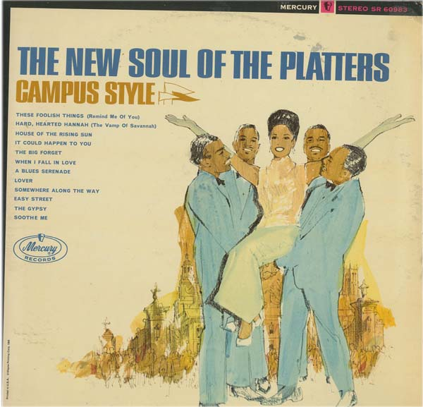 Albumcover The Platters - Campus Style - The New Soul Of the Platters