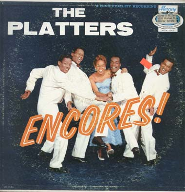 Albumcover The Platters - Encores !