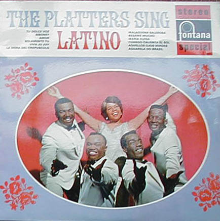 Albumcover The Platters - Latino
