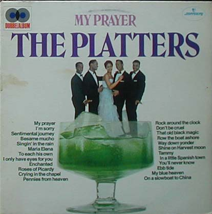 Albumcover The Platters - My Prayer (DLP)