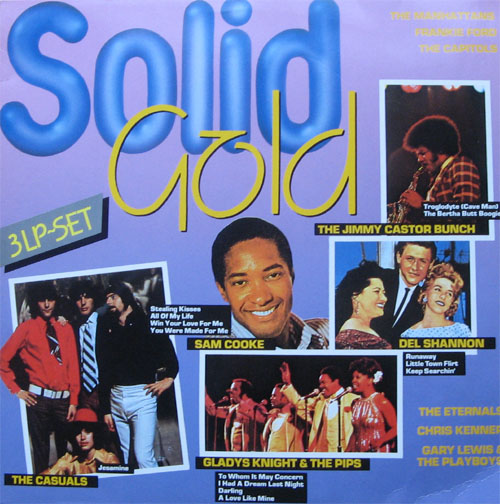 Albumcover Various Artists of the 60s - Solid Gold 3 Lp-Set