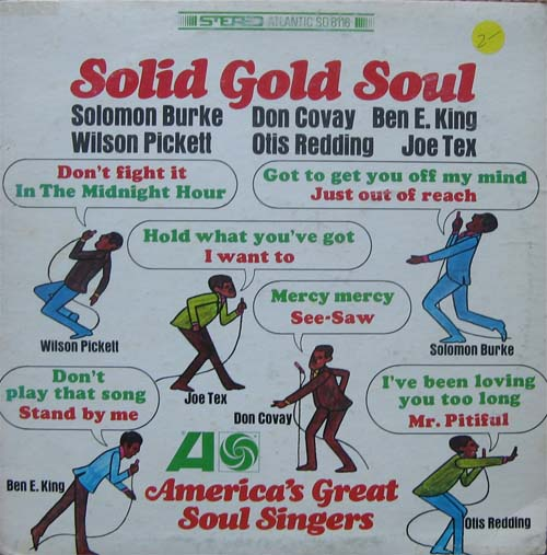 Albumcover Various Soul-Artists - Solid Gold Soul