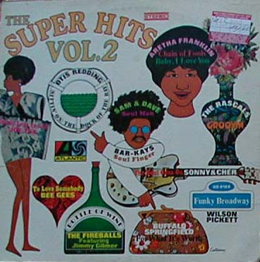 Albumcover Atlantic  Super Hits Sampler - The Super Hits Vol. 2