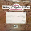 Cover: History of Rhythm & Blues - History of Rhythm & Blues / History of Rhythm & Blues, Vol. 1: The Roots 1947 - 52