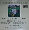 Cover: Chuck Willis - Chuck Willis / I Remember Chuck Willis
