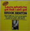 Cover: Brook Benton - Laura What´s He Got