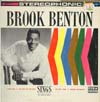 Cover: Brook Benton - Brook Benton Sings  - also Charlie Francis