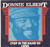 Cover: Donnie Elbert - Donnie Elbert / Stop In The Name Of Love