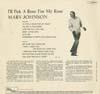 Cover: Marv Johnson - Marv Johnson / I´ll Pick A Rose For My Rose