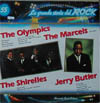 Cover: Olympics, The - The Olympics, The Marcels, The Shirelles, Jerry Butler