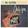 Cover: The Platters - Only You (25 cm)