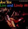 Cover: Joe Tex - Joe Tex / Live And Lively