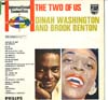 Cover: Brook Benton & Dinah Washington - Brook Benton & Dinah Washington / The Two Of Us