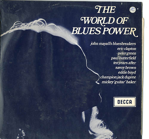Albumcover Various Blues-Artists - The World of Blues Power
